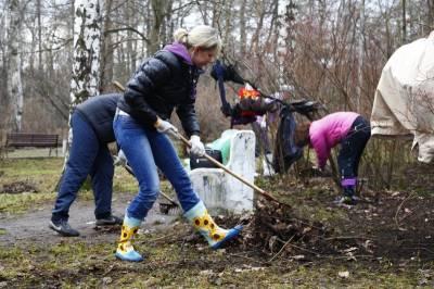 Курян призывают снова выйти на уборку города